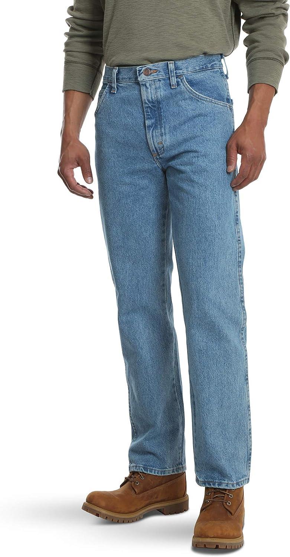 Rustler Classic Corte Clasico Jeans Para Hombre Amazon Com Mx Ropa Zapatos Y Accesorios