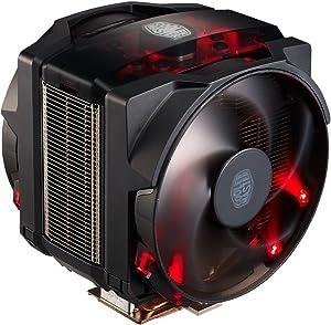 Cooler Master MasterAir Maker 8 High-end CPU Air Cooler w/ 3D Vapor Chamber Base, 8 Heatpipes, Aluminum Fins, Dual Silencio FP 120mm Fans