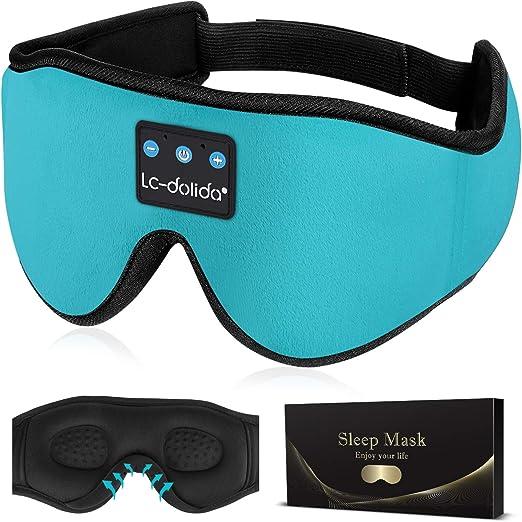 LC-dolida Sleep Headphones Bluetooth Sleep Mask