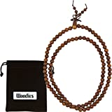 Amazon Price History for:WOODIES Walnut Wood Bead Necklace