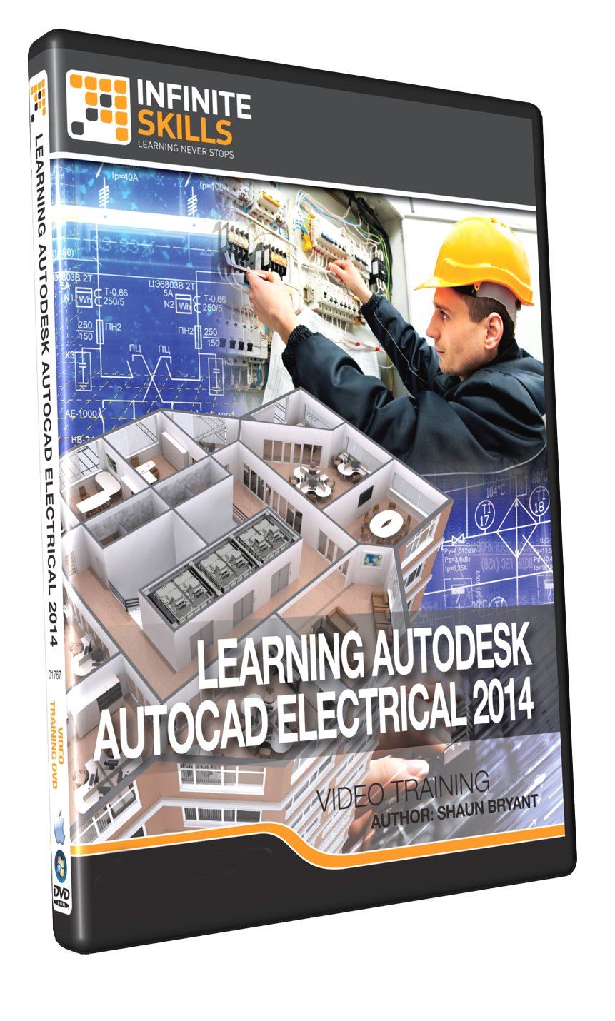 Amazon.com: Learning AutoCAD Electrical 2014 - Training DVD: Software