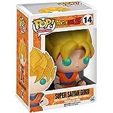 Funko - Figurina DBZ - Son Goku Super Saiyan Glow in The Dark Exclu Pop 10cm - 0849803050405