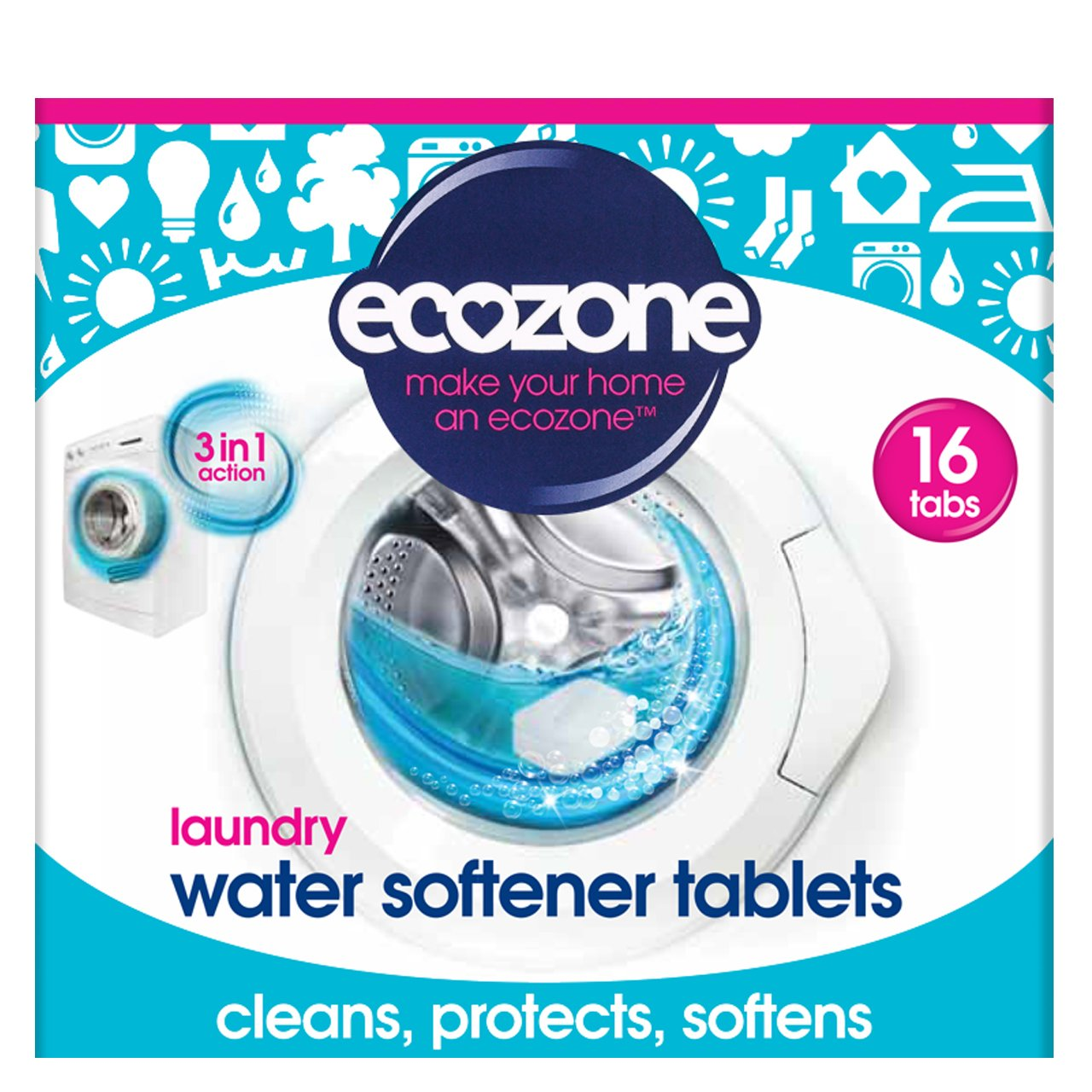 (6 PACK) - Ecozone Water Softner Tablets | 260g | 6 PACK - SUPER SAVER - SAVE MONEY Ecozone Ltd