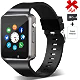 Smart Watch,Unlocked Smartwatch Compatible with Bluetooth/Android/iOS (Partial Functions) Touchscreen Call Text Camera…