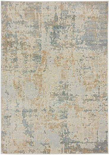 Luxe Weavers New Castle Sage 8×10 Modern Area Rug