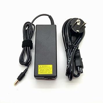 Adaptador Cargador Nuevo y Compatible con portátiles Sony Vaio VPC PCG SVT Series punta 6.5*4.4 pin central de 19,5v 4,7a o inferior del listado: Amazon.es: ...