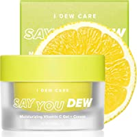 I DEW CARE Say You Dew Vitamin C Gel + Cream | Vitamin C Moisturizer For Face | Anti Aging Face Care Moisturizer with Niacinamide | Korean Skincare, Face Moisturizer, Vegan, Cruelty-free, Paraben-free