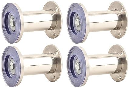 Buy Akshat Decor Stainless Steel Sofa Legs Silver Pack Of 4 Sh