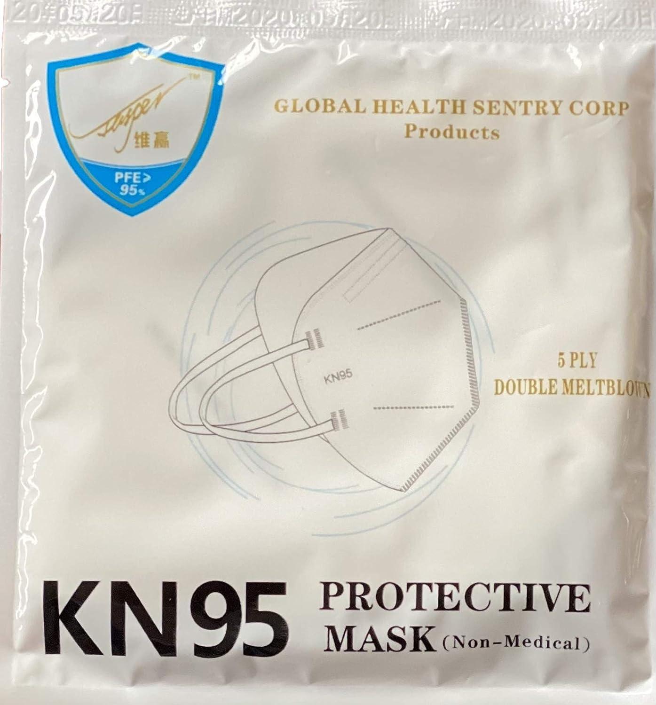 kn95 Cubrebocas Certificado 5 Capas Non Woven mascarilla Protectora