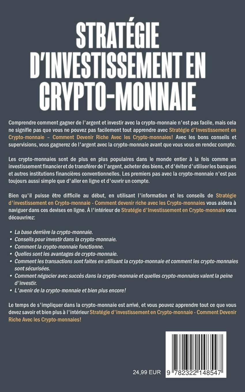 crypto-monnaie dinvestissement