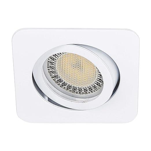 """LED Foco empotrado""""Lisara"""" (Moderno) en Blanco hecho de Metal e.o. para"""