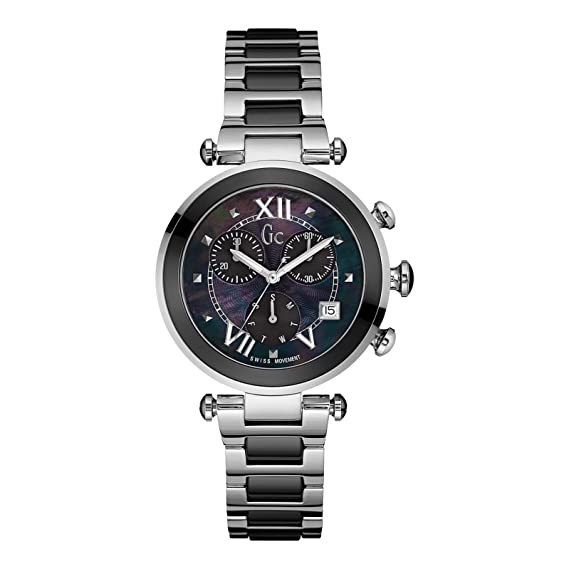 GC Gc Ladychic Reloj de Mujer Cuarzo 36.5mm Caja de Acero Y05005M2