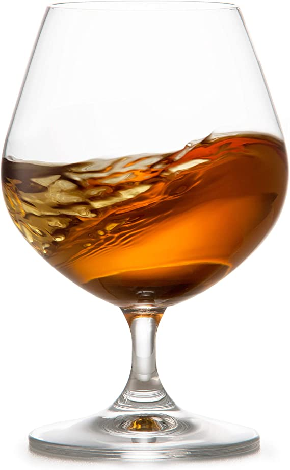 Circleware 45020 Chantal Cognac Wine Snifter Whiskey Glasses