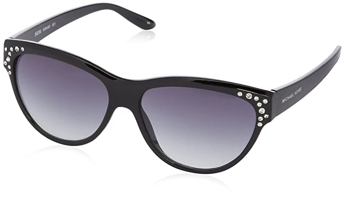 Michael Kors Gafas de sol Wayfarer M3646S, 001 Black