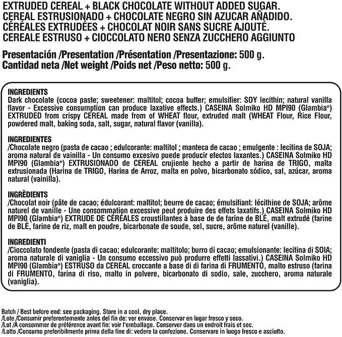 Life Pro Fit Food Protein Crunch 500g. Cereales Proteicos. Bolitas de Proteína Varios sabores. Bajo en Hidratos. Cuida tu alimentación. Hecho en España. (DARK CHOCOLATE): Amazon.es: Salud y cuidado personal