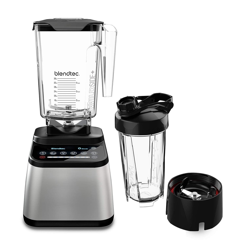 Blendtec D725C3216A1A-A1AP1D8 Designer 725 90 oz and 34 oz Stainless Black + Go Jar