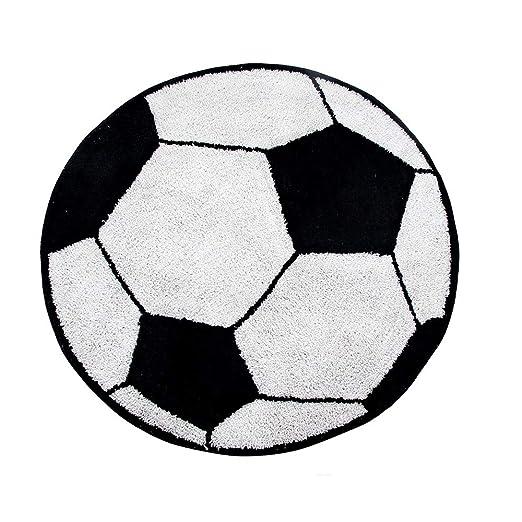 Guizmax Tapete Alfombra Balón de Fútbol Niño Dormitorio Fútbol ...