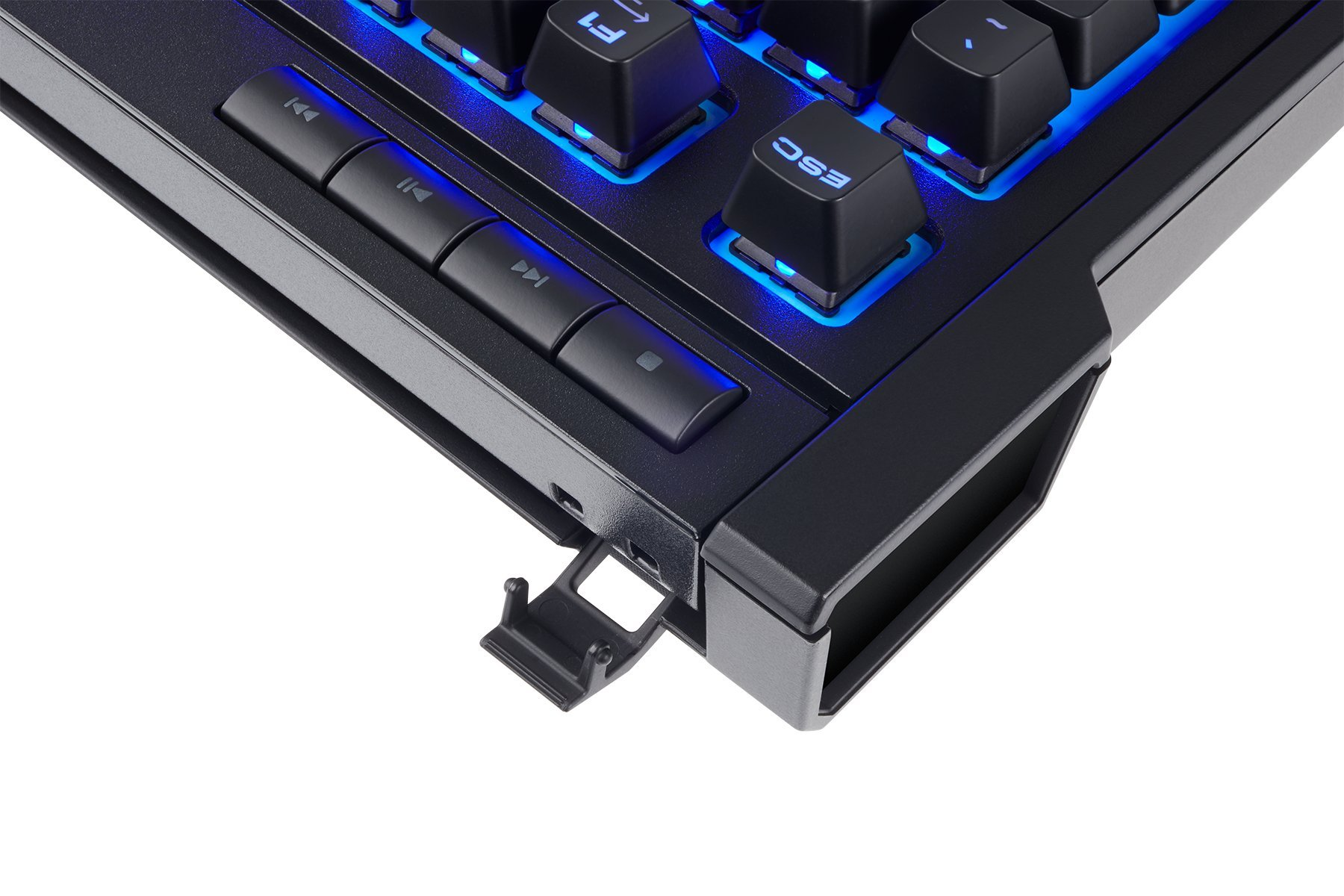 CORSAIR K63 Wireless Mechanical Keyboard & Gaming Lapboard Combo - Game Comfortably on Your Couch - Backlit Blue Led, Cherry MX Red - Quiet & Linear by Corsair (Image #5)