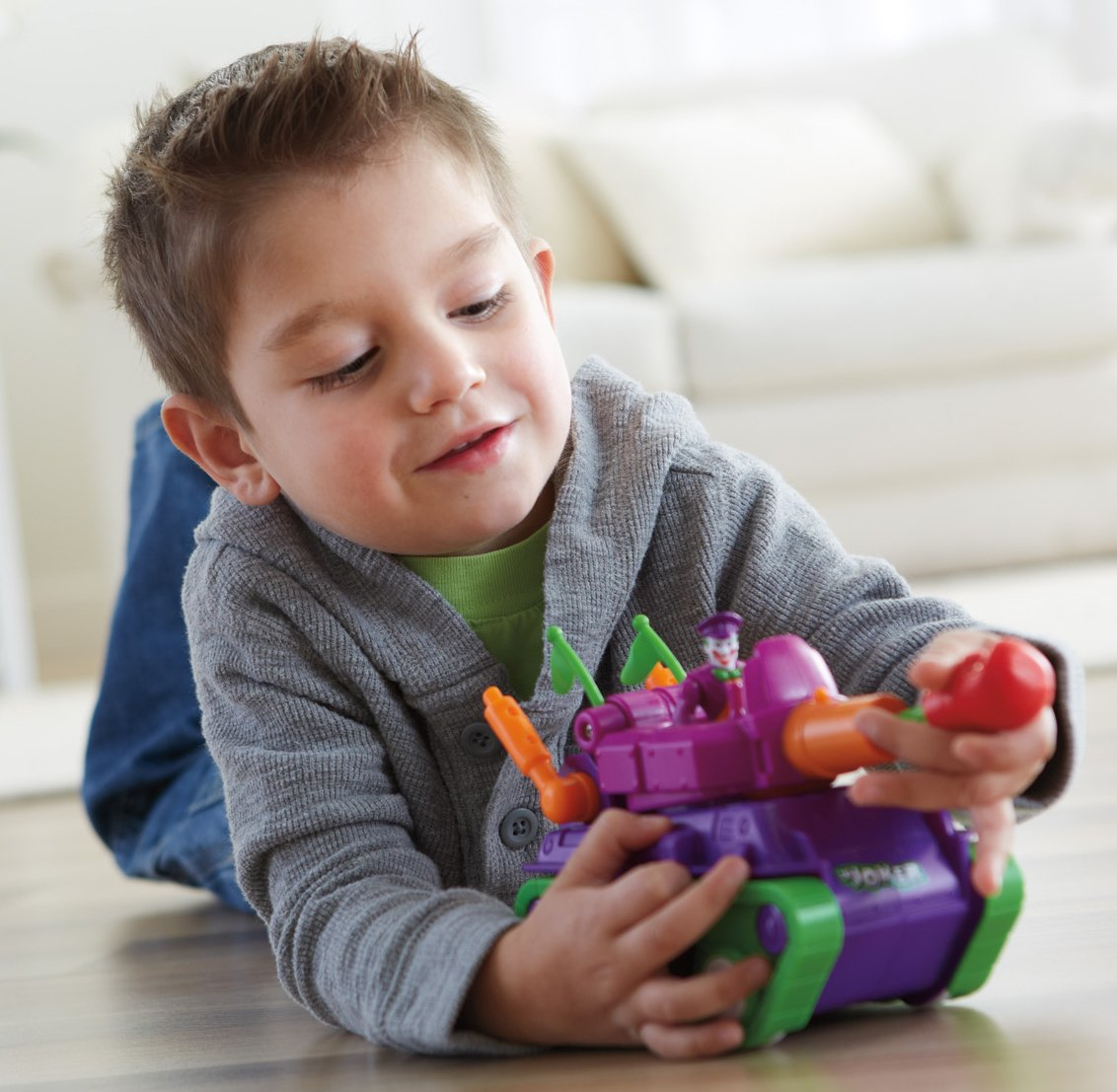 Fisher-Price Imaginext DC Super Friends, Joker Tank by Fisher-Price (Image #2)