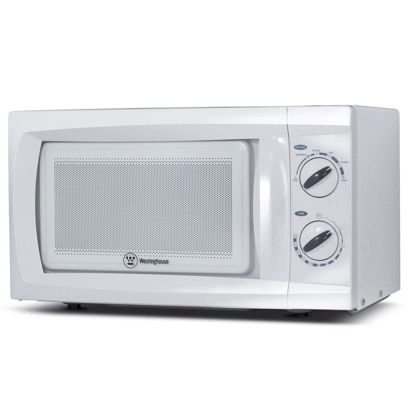 Westinghouse, WCM660W, Countertop Microwave Oven, 600 Watt, 0.6 Cubic Feet, White