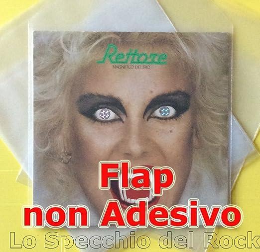 12 opinioni per 50 Buste in POLIETILENE con Flap NON ADESIVO per dischi 33 Giri LP DLP