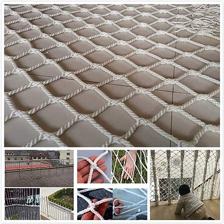 Red De Seguridad Blanca, Niños Red De Valla De Protección Red De Decoración Escalera Anti-caída Red para Barandilla Balcón Barandilla Escalera Zona De Juegos Niños Interior Al Aire Libre Cat Net: Amazon.es: