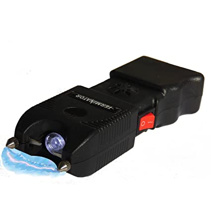 TERMINATOR SGTA - 980,000,000 Stun Gun - Super Powerful Bright Durable  Flashlight Rechargeable Stun Gun with Siren