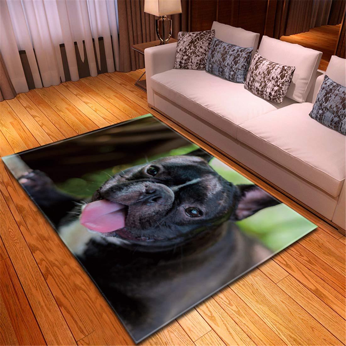 丸型ラグ リーフ 竹ラグマットカーペット洗濯150x210cm孟ペット猫犬ペットカーペット装飾マット滑り止めマット洗濯機で洗えます長方形ポリエステル B07RMDTVKH l19011245 150x210cm