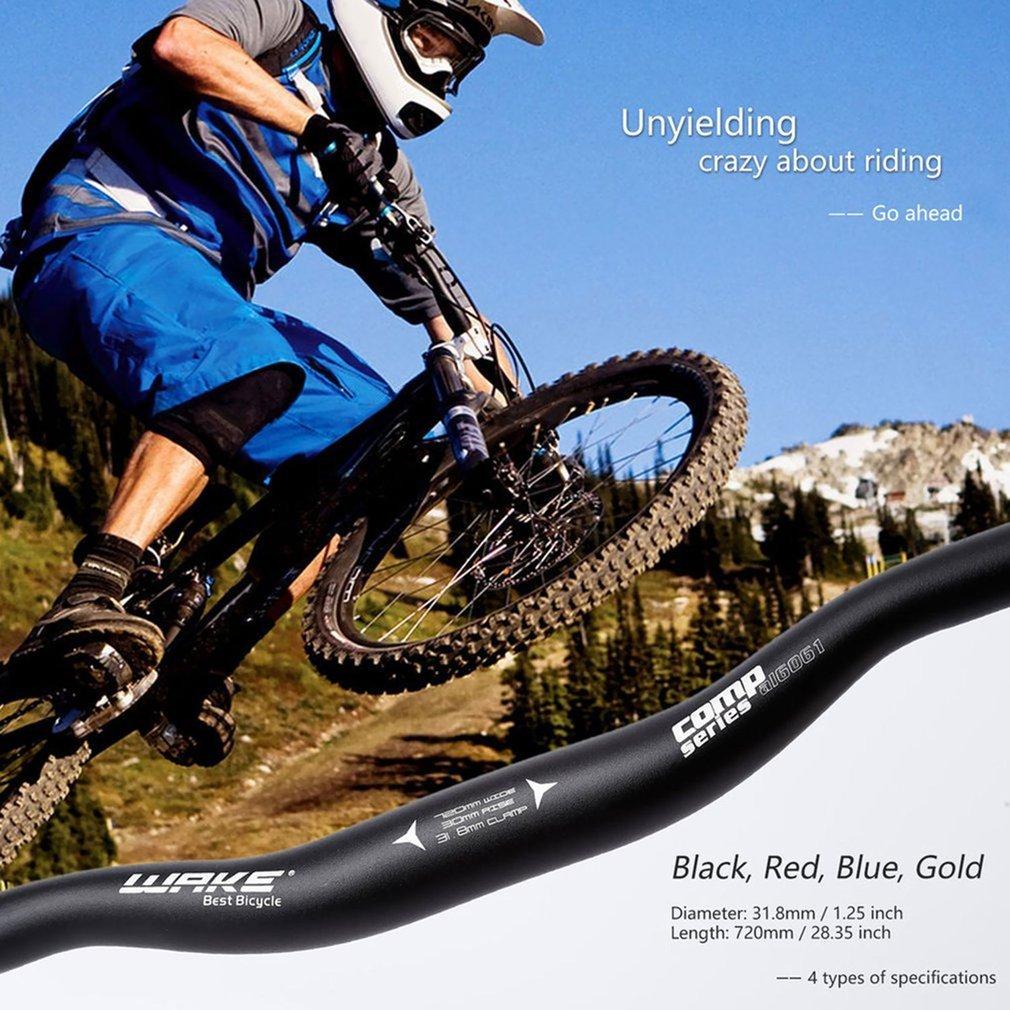Manillar de bicicleta OUTAD, manillar para montañera, de aluminio ...