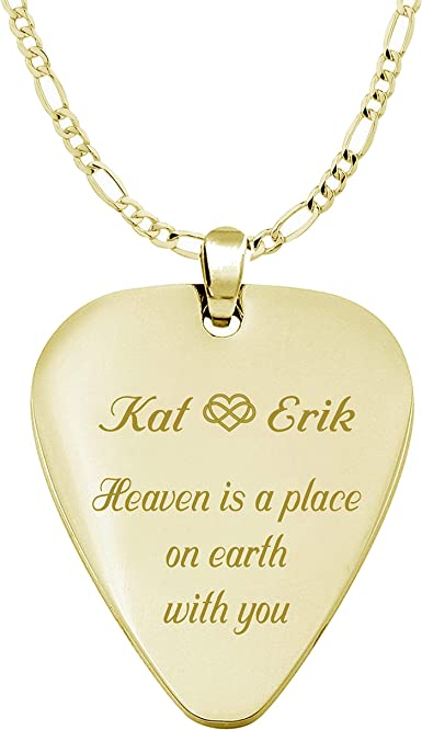 Religious Cross Custom Guitar Pick Pendant Necklace Keychain