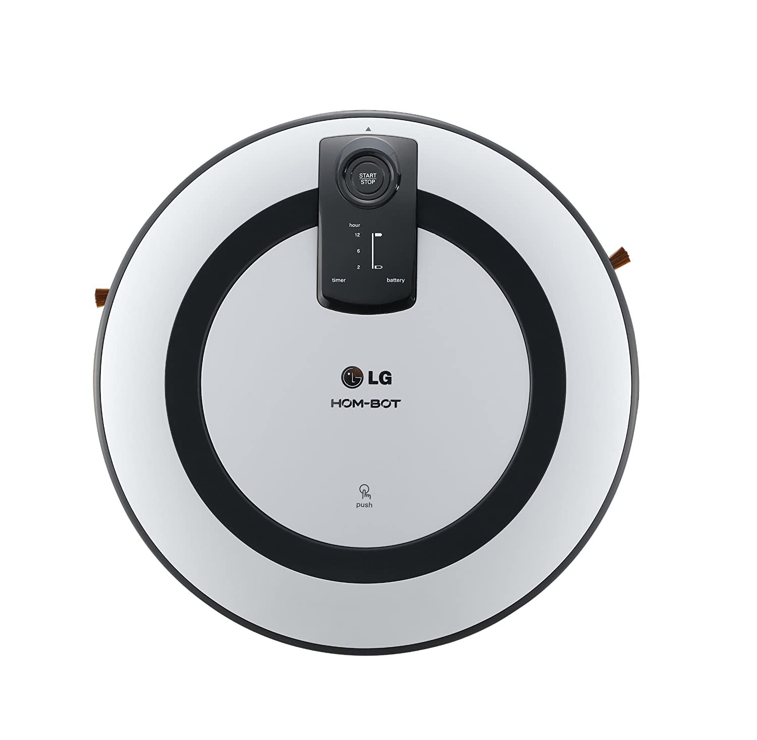 LG VR 5943L - Robot aspirador, color gris: Amazon.es: Hogar