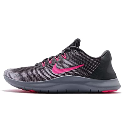 new arrival 3bb92 1b41a Image Unavailable. Image not available for. Color  Nike Flex RN 2018  (10.5-M, Anthracite Hyper Pink Wolf Grey