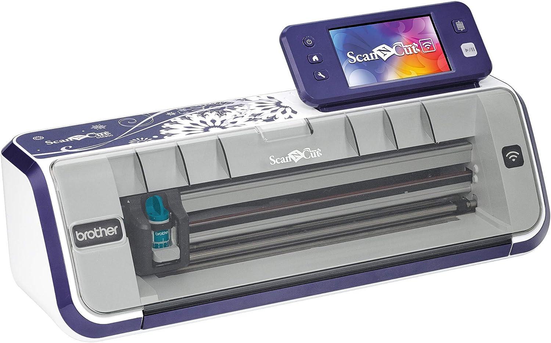 Brother CM900 - Plotter de corte con escáner y conexión WIFI, 30.5 x 61cm, blanco: Amazon.es: Hogar