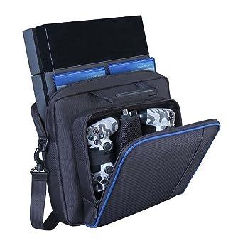 Para Sony Playstation 4 PS4 consola bolsa de transporte diseño bolsa (a): Amazon.es: Industria, empresas y ciencia