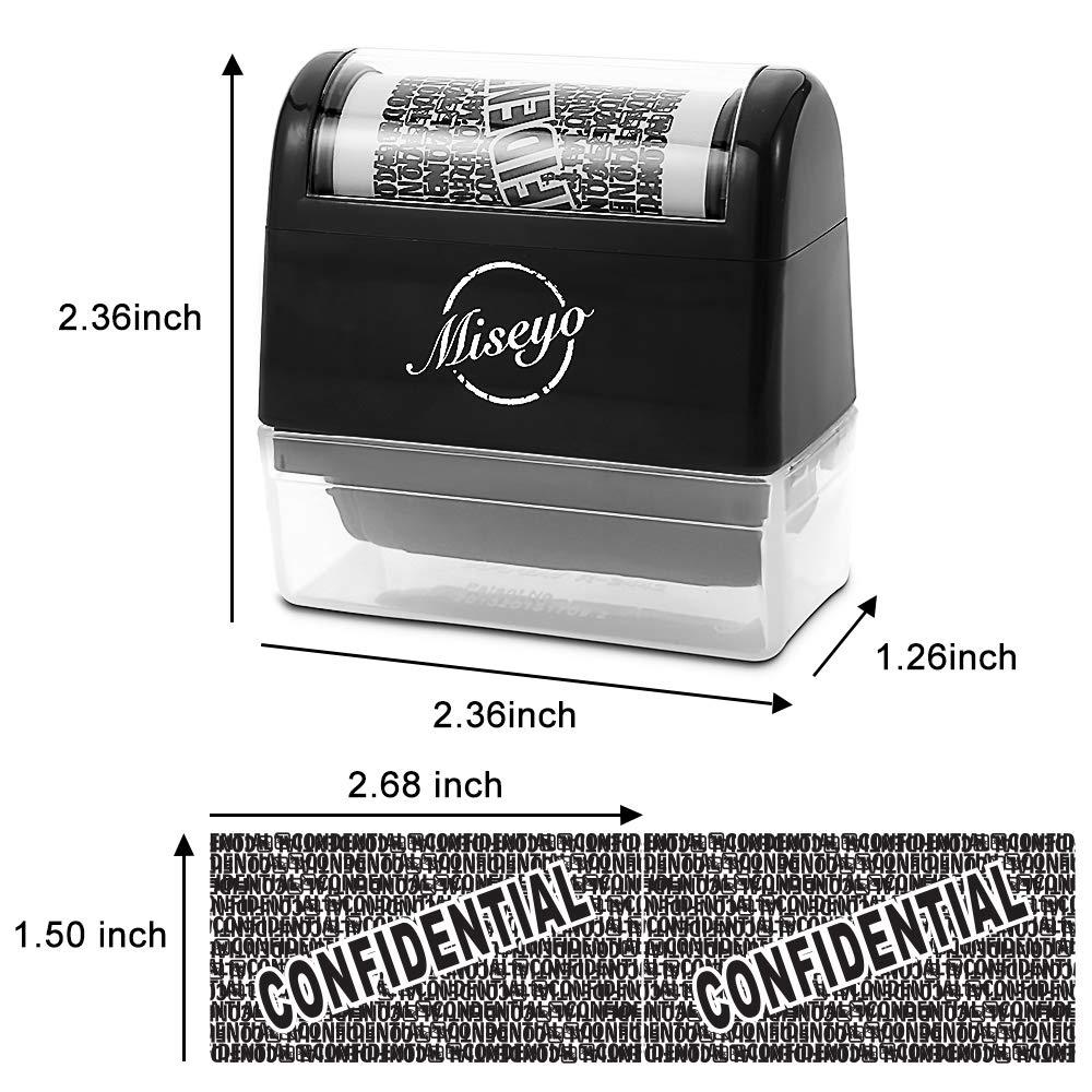 3 Pack Black Ink Miseyo Roller Stamp Refill Ink