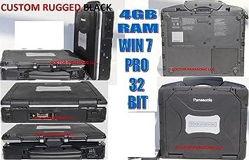 Panasonic ToughBook CF-52 MK2 C2D P8400 2.26GHz Touch Screen 4GB 128SSD Win 7