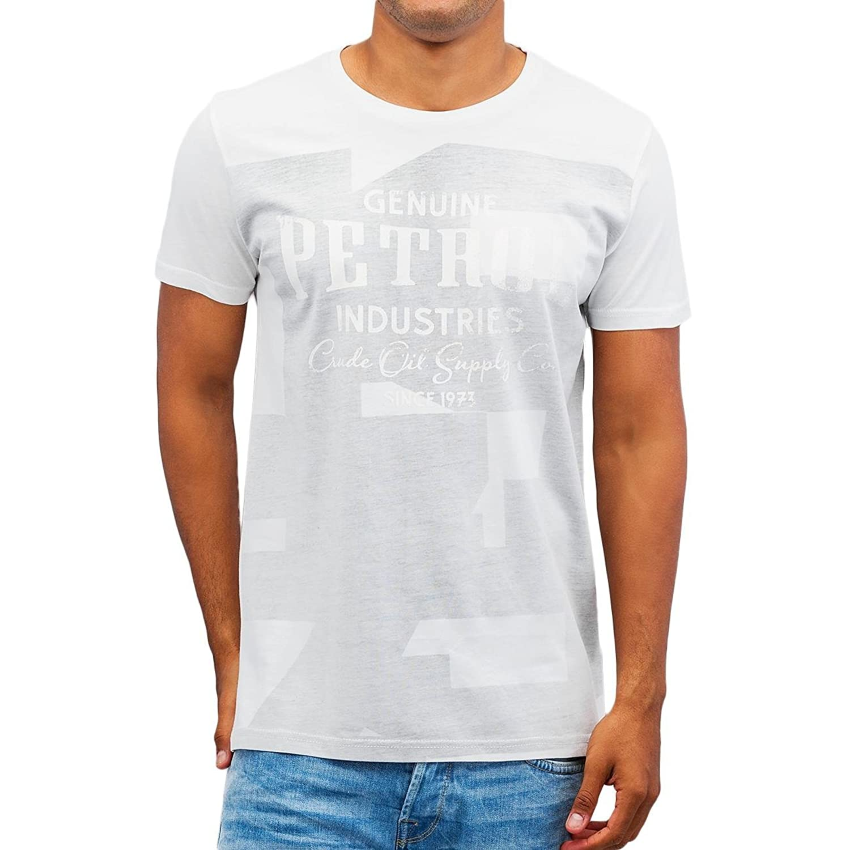 Petrol Industries?-?Tee-shirt MC 642?White E16