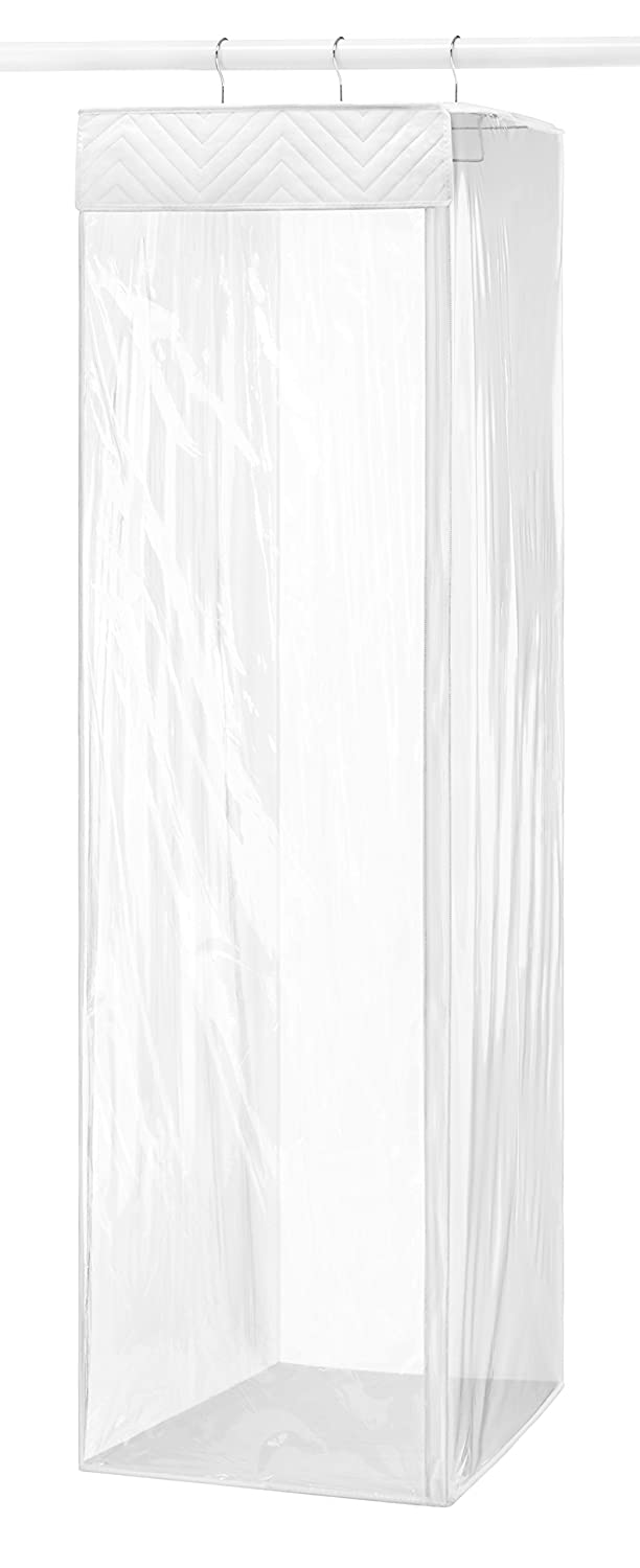 Whitmor 6046-01-C Supreme Garment Care Collection Garment Bag, Clear