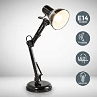 B.K.Licht - Lámpara de escritorio tipo arquitecto, flexo