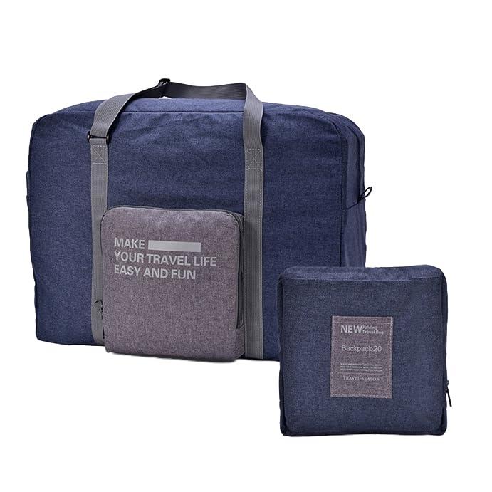 e82e22879b1a Youful Travel Bag Lightweight Duffel Foldable Large Capacity Luggage Bag  17.73  x13.79