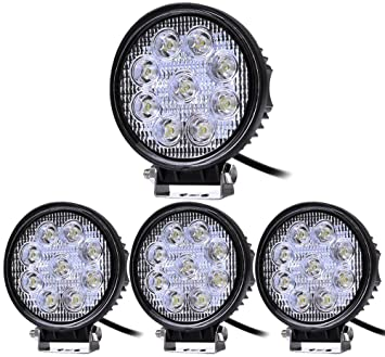 4X 27W LED Arbeitsscheinwerfer Scheinwerfer Arbeitslicht Flutlicht Offroad IP67