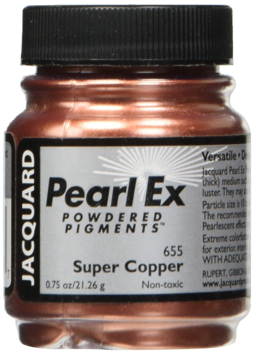 Pigmento Jacquard Pearl Ex 21gr. Super Cobre