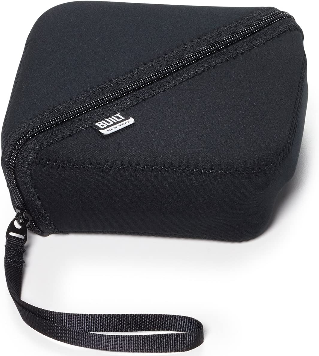 BUILT NY Bento Sandwich Container with Neoprene Sleeve, Black