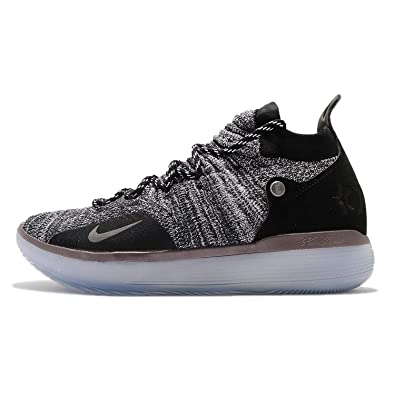 outlet store d35b3 4a636 Amazon.com | Nike Men's Zoom KD11 EP, Black/Black | Basketball