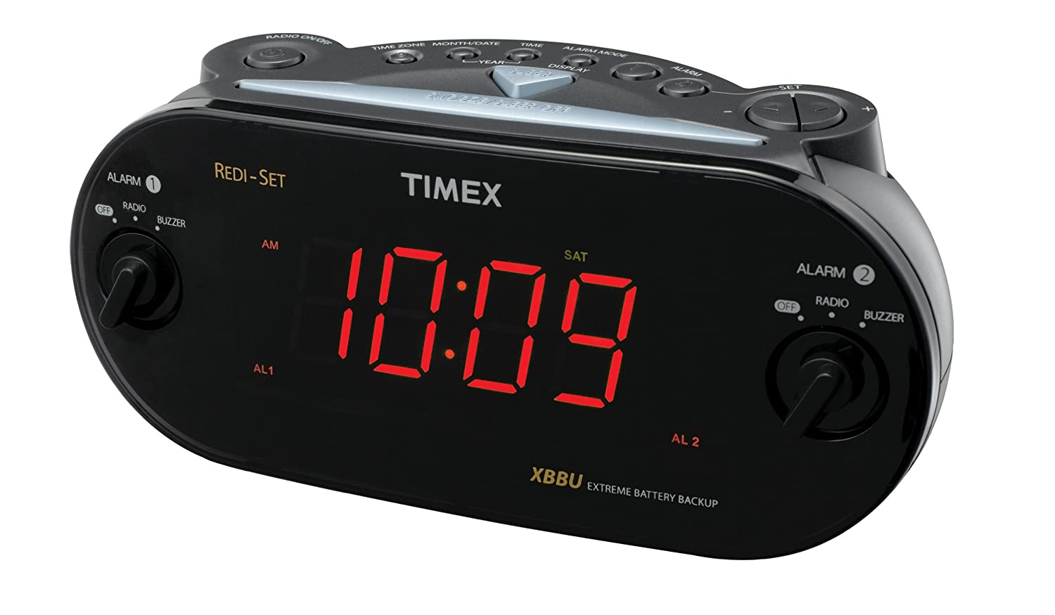 DUAL ALARM CLOCK RADIO: Amazon.es: Electrónica
