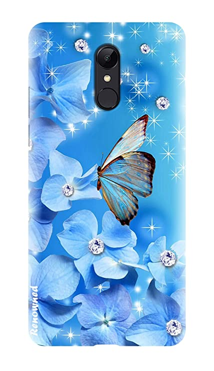 hot sale online 3c2aa 23a9c Renowned Xiaomi Redmi Note 5 Designer Back Cover | Redmi Note 5 Printed  Back Cover - Butterfly l Flower l Fancy l Cute l Girl l Woman