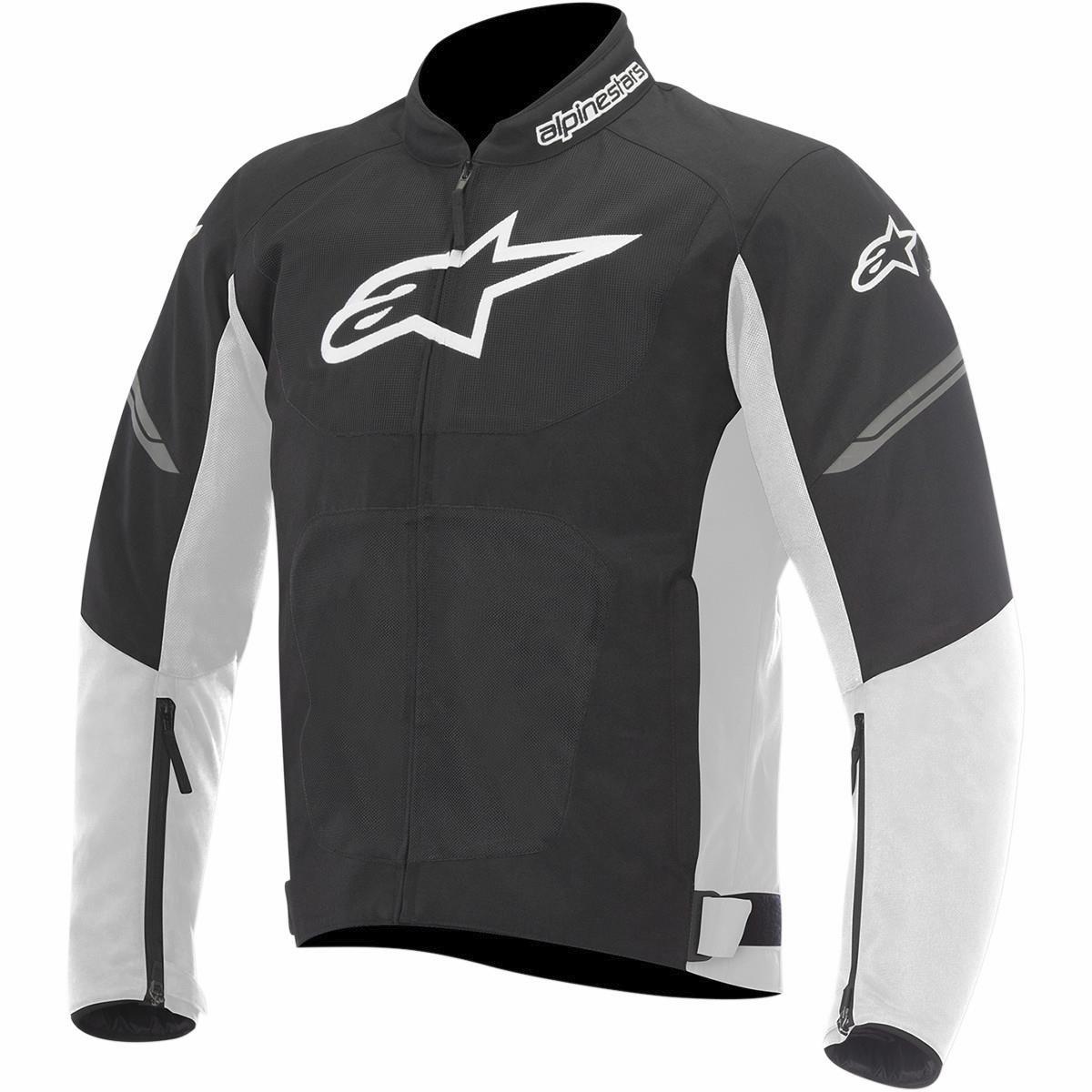 Alpinestars Viper Air Mens Street Motorcycle Jackets Black//Large