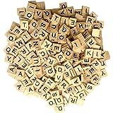 Wooden Letter Tiles (300 Pieces)