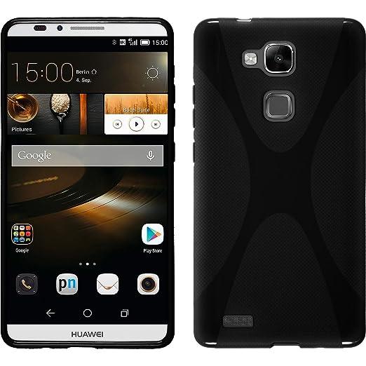 49 opinioni per PhoneNatic Custodia Huawei Ascend Mate 7 Cover nero X-Style Ascend Mate 7 in