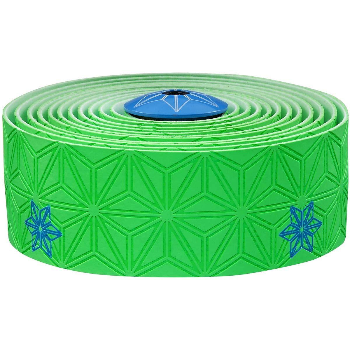 スパカズ ネオングリーンテープ/ネオンブルー スーパースティッキークッシュテープ プリントカラー バーテープ